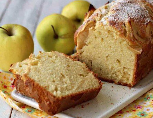 cake aux pommes sans sucre